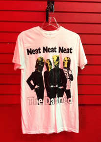 The Damned Neat Neat Neat T-Shirt in White