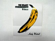 Velvet Underground with Nico Warhol Banana Sticker