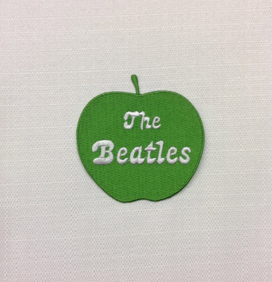 Beatles Green Apple Iron On Patch