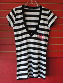 The Cure Deep Neck Babydoll 2008 Tour T-Shirt
