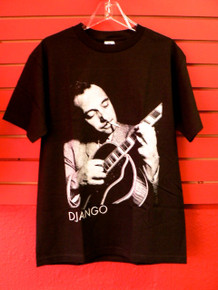 Django Reinhardt With Guitar T-Shirt