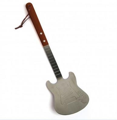Metal Guitar Barbecue Grill Spatula