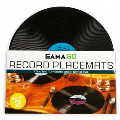 Record Album Placemats