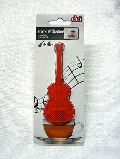 Rock N' Brew Guitar Shaped Tea Infuser