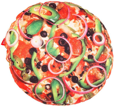 Pizza Pillow Front