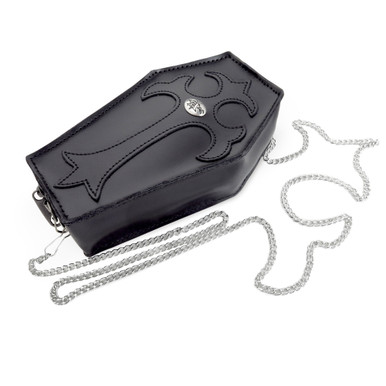 Gothic Leather Coffin Purse from Alchemy of England