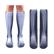 Living Royal Knee High X-Ray Bones Socks