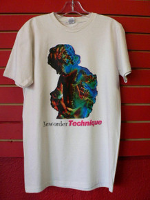 New Order - Technique Album Cover T-Shirt in Off-White