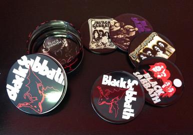 Black Sabbath Drink Coasters