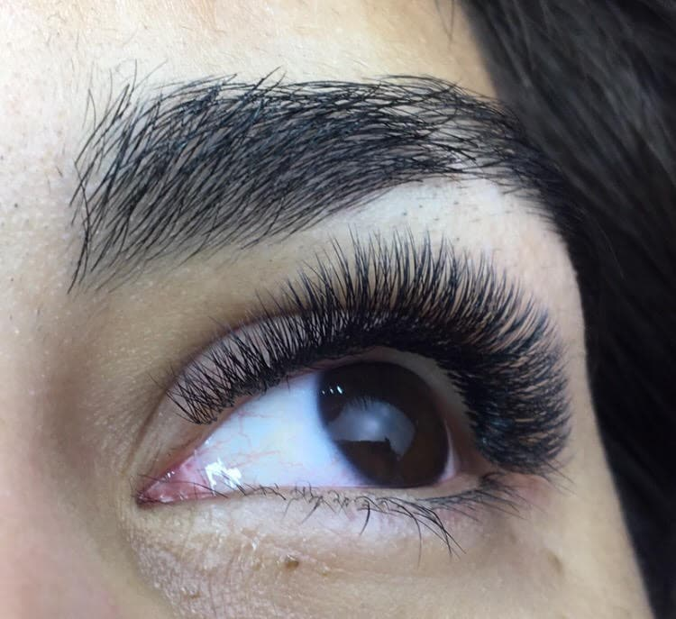 Photo of eyelash extensions from Lash Artist of the Week