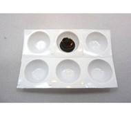 Disposable Perforated Eyelash Extension Adhesive Wells LashStuff.com