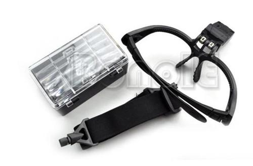 LED Eyeglass Magnifiers LashStuff.com