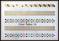 Clearance! Premium Metallic Temporary Tattoo 1