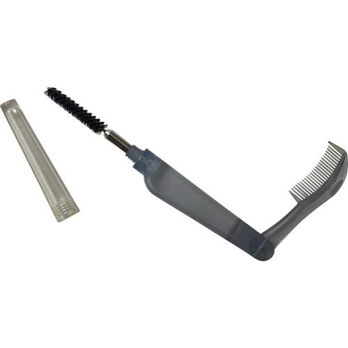 Mascara brush with folding comb LashStuff.com