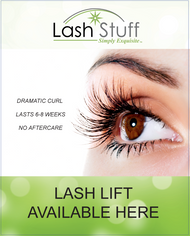Lash Lift Window Cling