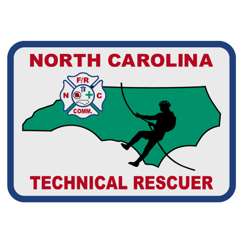 North Carolina Technical Rescuer Decal The Emergency Mall