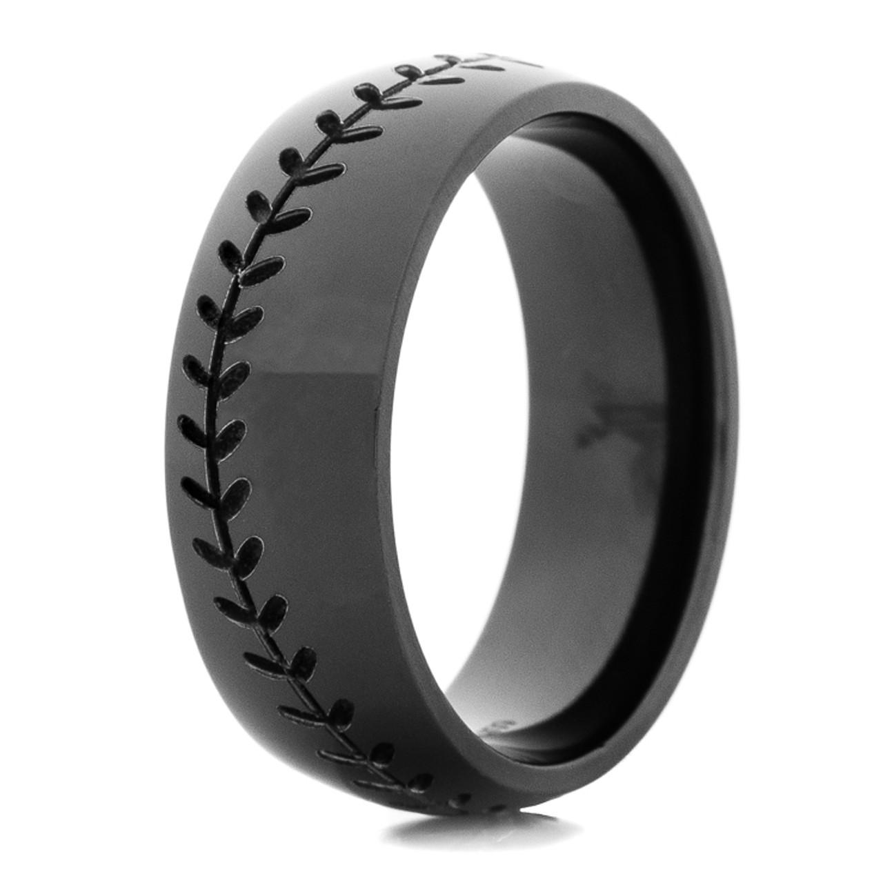 Men's Black Baseball Ring  Titanium Buzz. Gypsy Rings. Samnsue Wedding Rings. Four Band Engagement Rings. Veneer Rings. Portrait Rings. 6mm Wedding Rings. Smu Rings. Beautiful Blue Wedding Engagement Rings