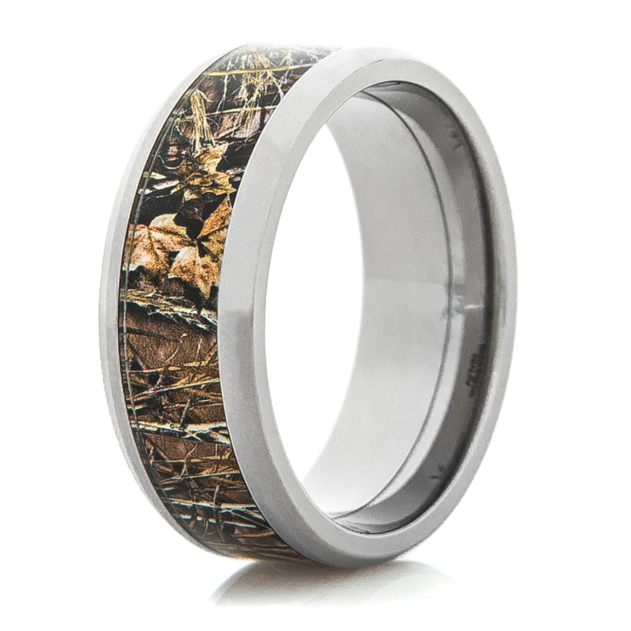 Mens RealtreeR Titanium MAX 4 Wedding Band