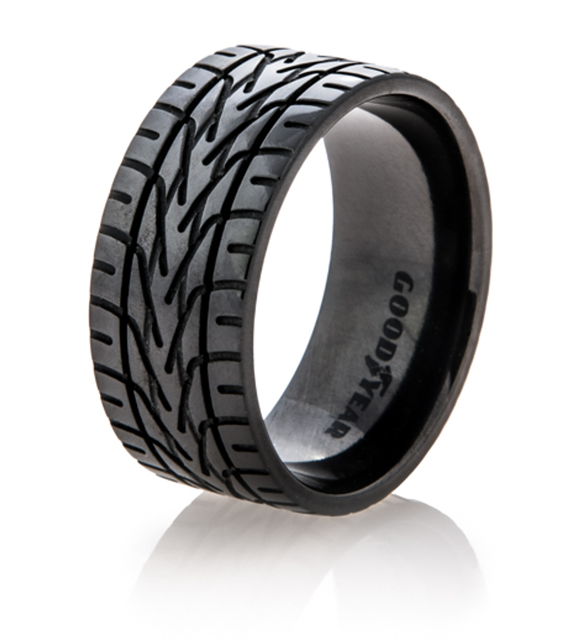 Black Goodyear Nascar Tire Tread Ring  Titaniumbuzz. Large Aquamarine Diamond Wedding Rings. 5 Stone Engagement Rings. Seven Stone Engagement Rings. Orca Rings. Dome Wedding Rings. Big Wedding Rings. Native American Wedding Rings. Strong Wedding Rings