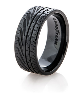 Men's Goodyear Black Eagle F1 Super Car Tire Tread Ring