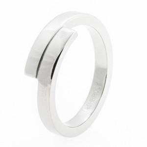 Women's Titanium Bypass Ring