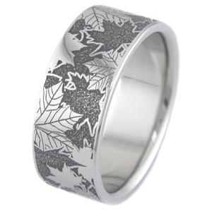 Camo Leaf Ring