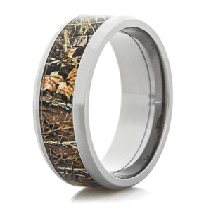 Men's Realtree Titanium MAX-4 Wedding Band