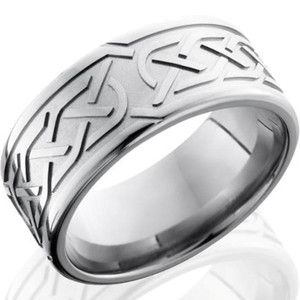 Carved Celtic Knot Ring