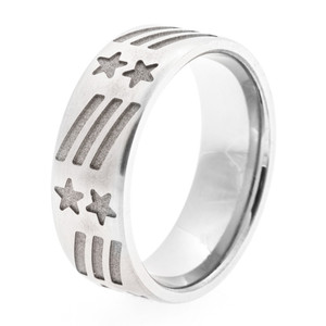 Men's Titanium All-American Ring