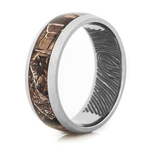 Fingerprint Camo Ring