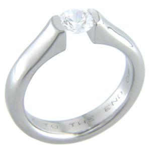 Fusion Tension Set Titanium Ring