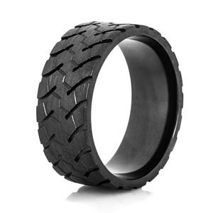 Men's Black Goodyear RM4A OTR Tire Tread Ring