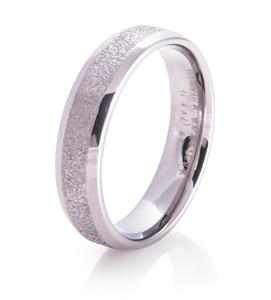 Icy Path Arctic Series Titanium Wedding Ring