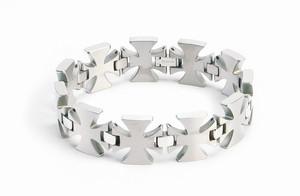 Men's Titanium Cross Bracelet