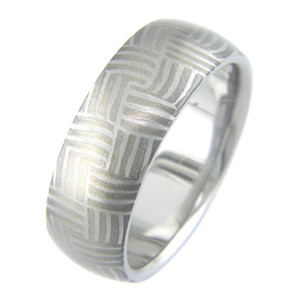 Mokumanium Basket Ring
