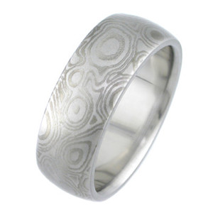 Random Pattern Mokumanium Ring