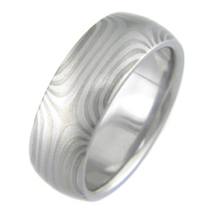 Mokumanium Twist Ring