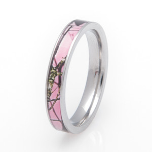 Women's Pink Mossy Oak Breakup Camo Ring