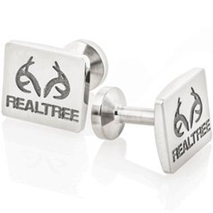 Titanium Realtree Cufflinks