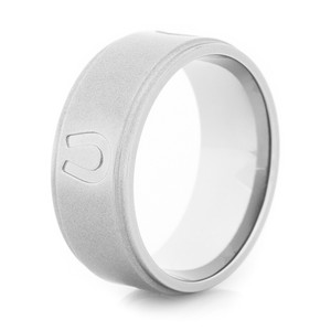 Men's Titanium Lucky Horseshoe Ring