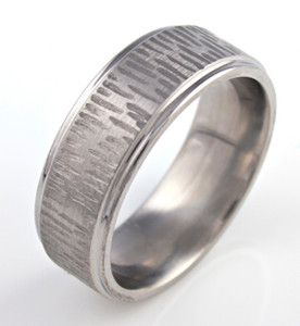 Rustic Carved Band