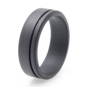 Men's Simplex Carbon Fiber Wedding Ring