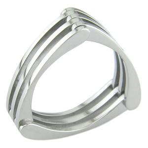Titanium Trifecta Ring