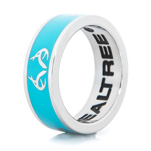 Realtree Logo Ring-Turquoise