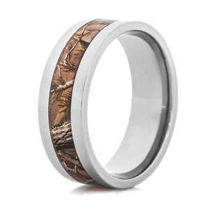 Realtree Polished AP Camo Ring