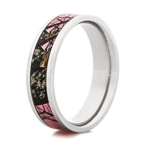 Women's Pink Mossy Oak Breakup Band