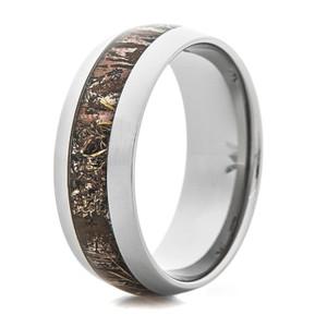 Men's Titanium Realtree Max-1 XT Camo Ring