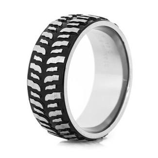 tire tread wedding rings goodyear motorcycle - Mud Tire Wedding Rings