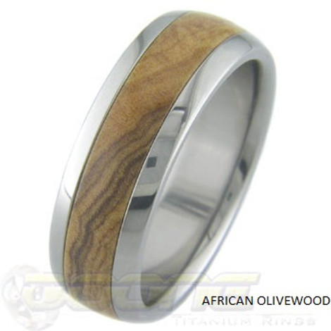 Wooden Wedding Rings 120 Custom Wood Rings by Titanium Buzz