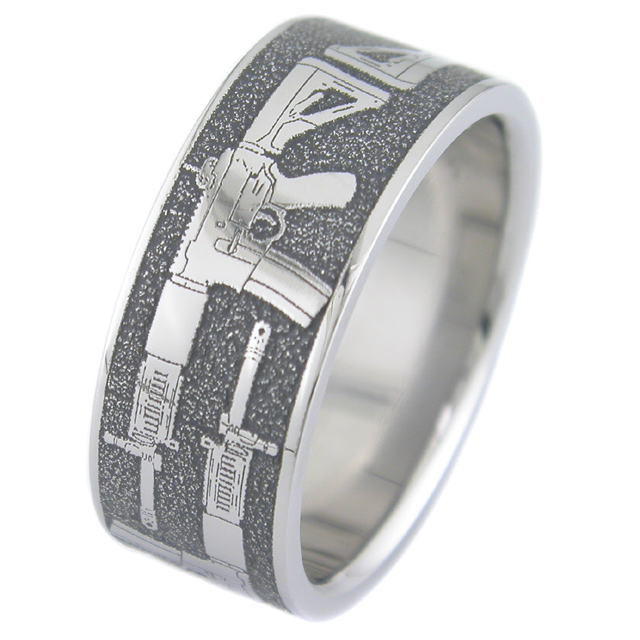 Assault Rifle Gun Ring